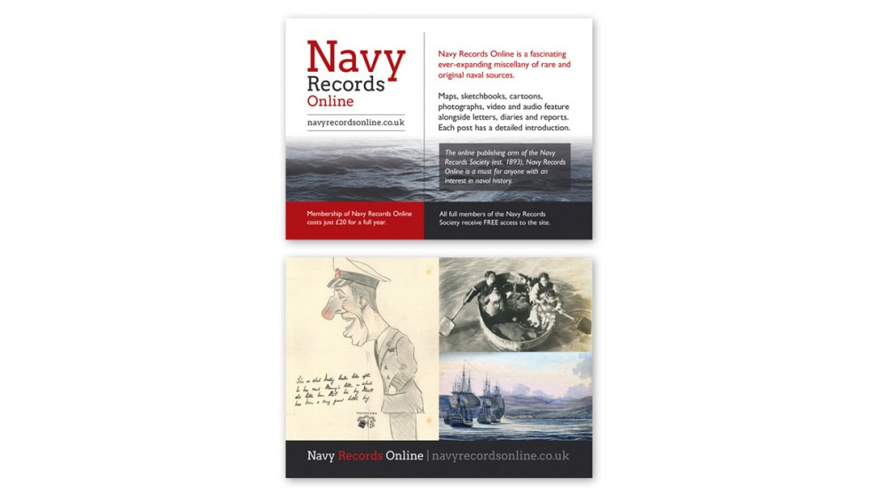 Navy Records Online Flyer