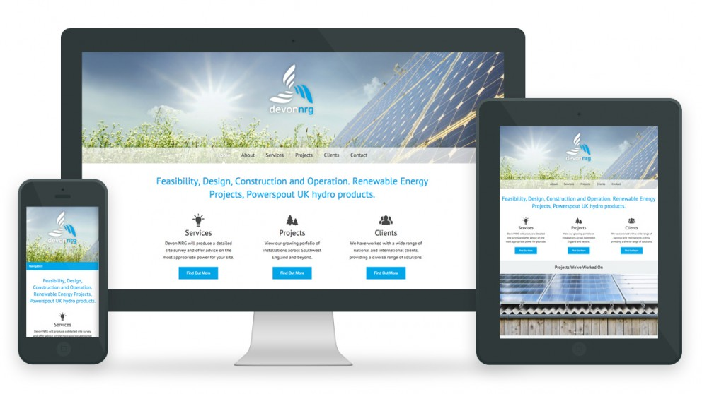 Devon Nrg Web Design